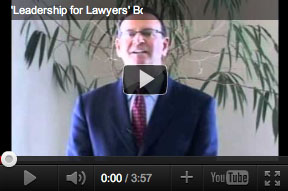 Leadership For Lawyers Videos